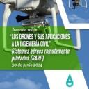Desde la Fundación de la Energía les informamos que ya están disponibles las ponencias presentadas durante la  Jornada sobre los Drones y sus aplicaciones a la ingeniería civil. Sistemas aéreos remotamente pilotados (SARP) celebrada el pasado 30 de junio de 2014.<br />http://www.fenercom.com/pages/informacion/evento.php?id=356   <br />Esperando que sean de su agrado, reciban un cordial saludo.